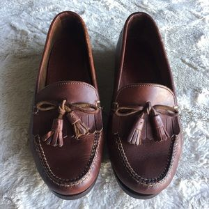 Cole Haan Leather Tassel Loafers, 7